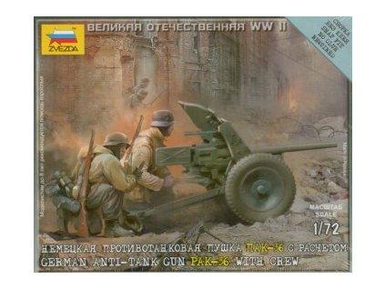 German Anti-tank Gun PAK-36