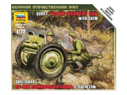 Soviet 76mm Infantry Gun