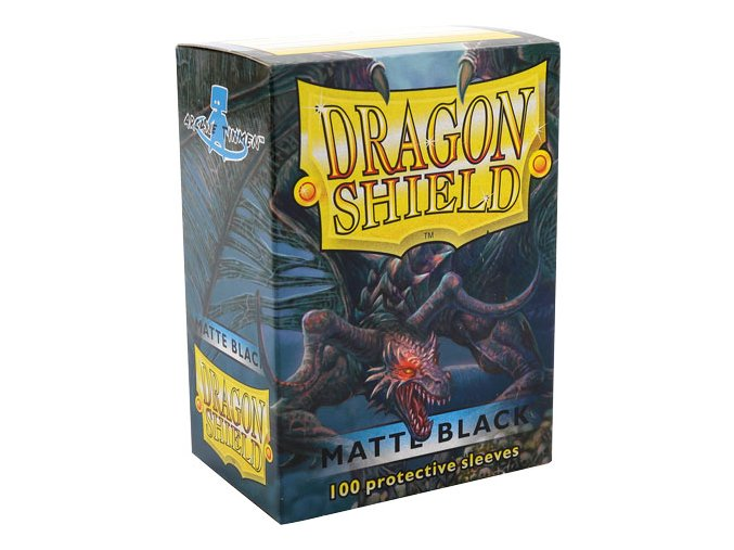Dragon Shield-Black Matte