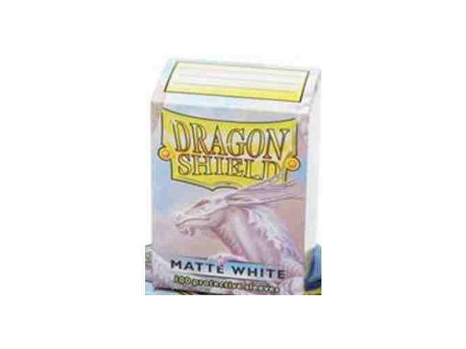 Dragon Shield Protector 100ks - Matte White