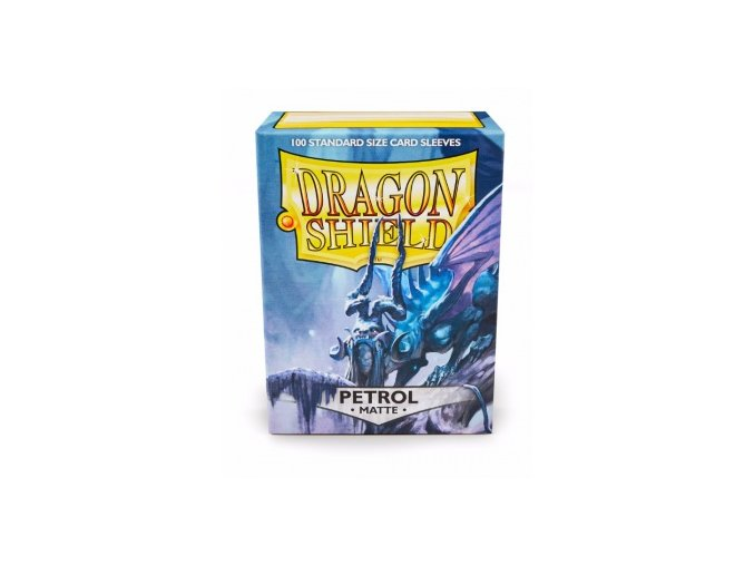 Dragon Shield Protector 100ks - Petrol Matte