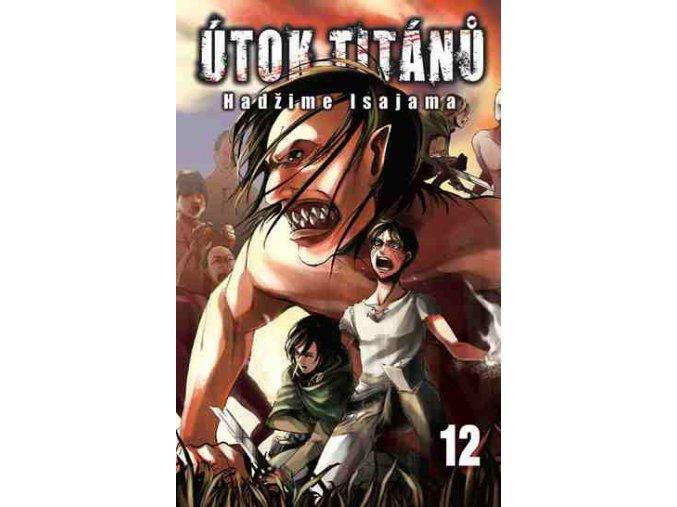 Isajama H.-Útok titánů 12