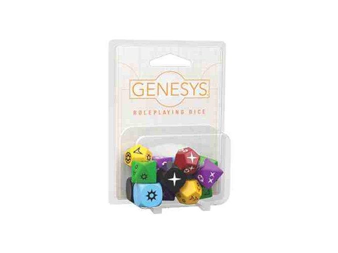 FFG-Genesys RPG: Sada kostek