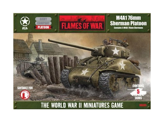 M4A1 76mm Sherman Platoon