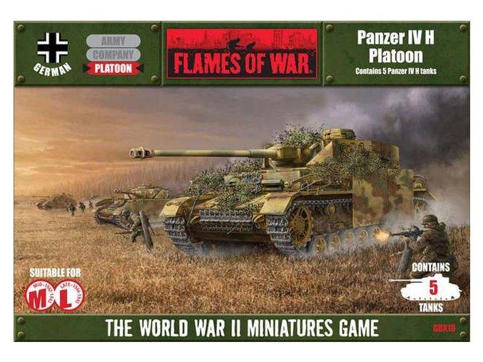 Panzer IV H Platoon