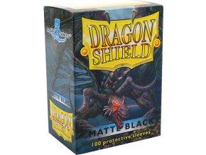 Dragon Shield Protector 100ks - Black Matte