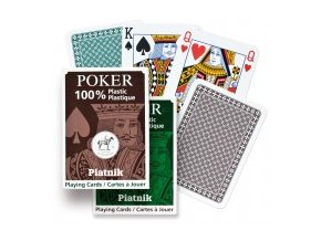Poker 100% plastic