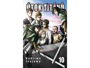 Isajama H.-Útok titánů 10