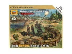 British Bofors 40mm Mk-1/2 AA Gun