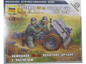 German 75 mm Infantry Gun
