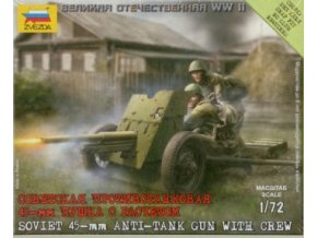 Soviet 45mm Antitank Gun