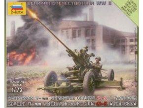 Soviet 37mm AA gun