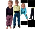 Softshellové kalhoty s regulací pasu a náplety