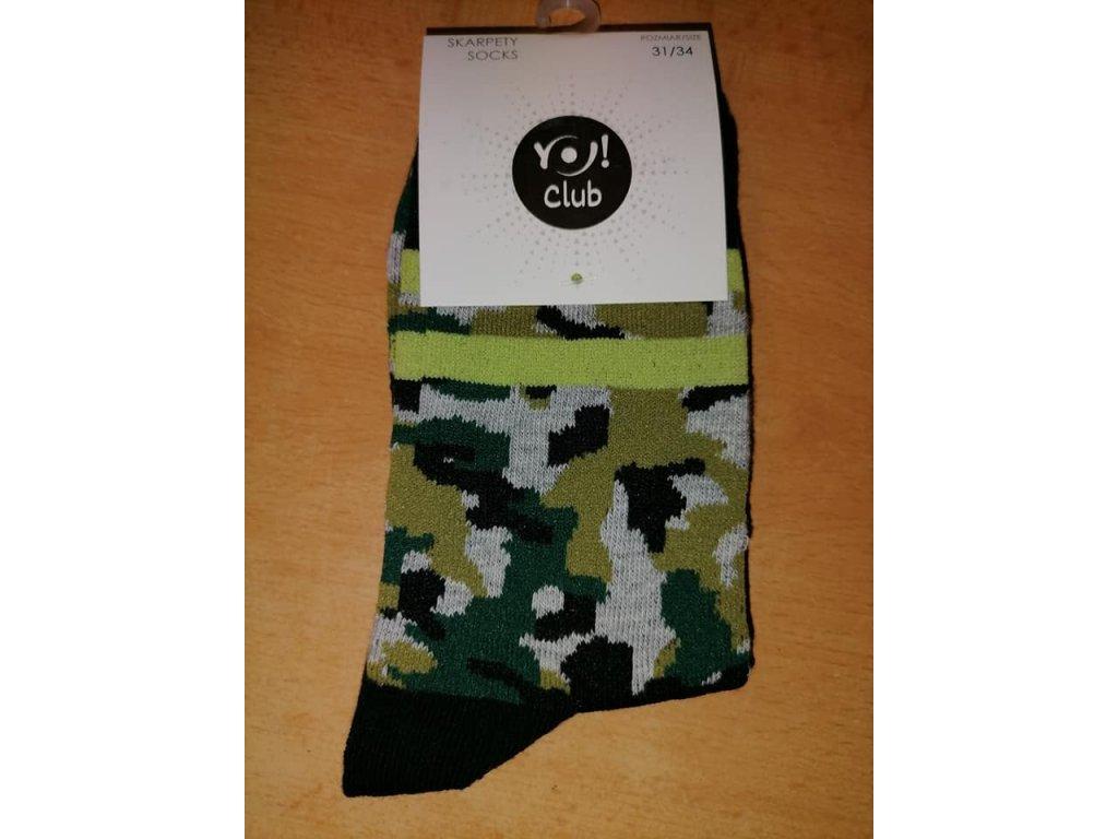 ponožky maskáč