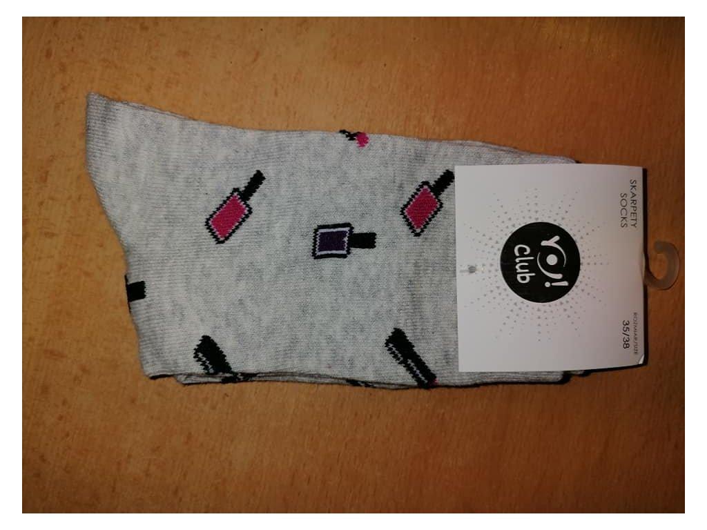 ponožky šminky