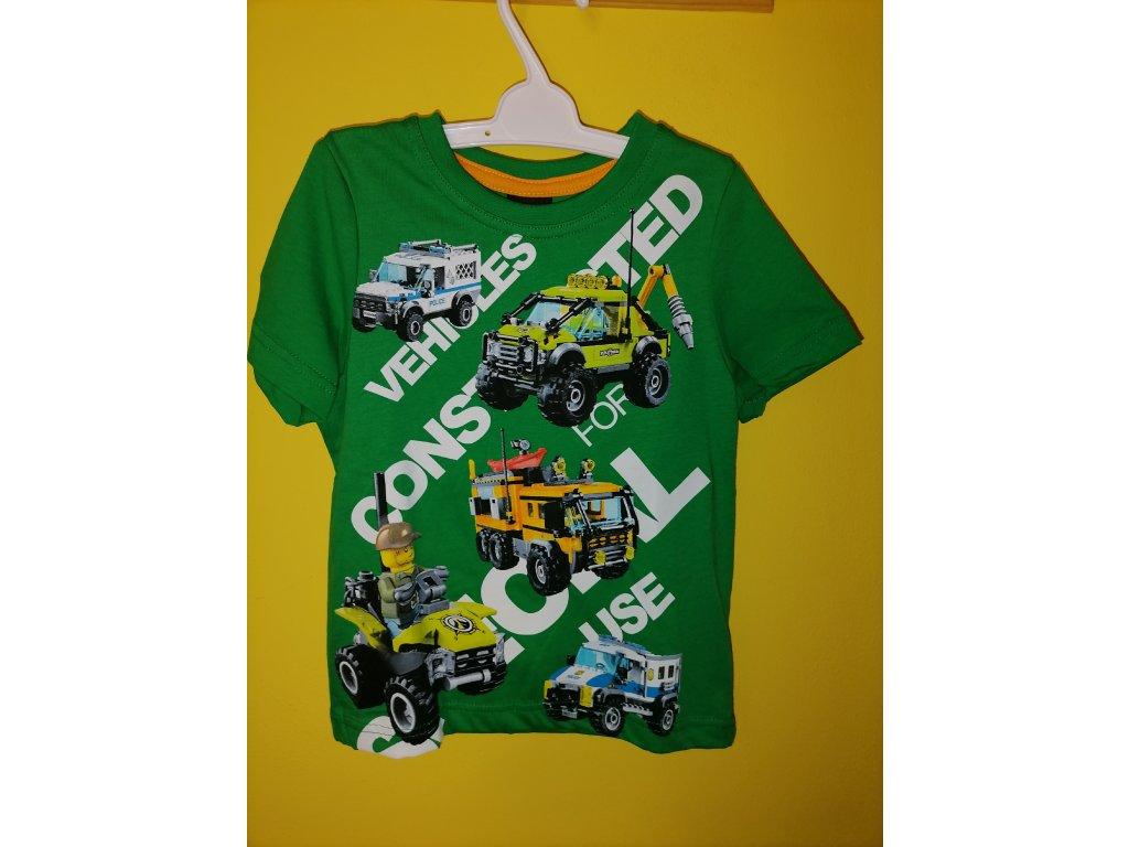 Tričko Lego zelené