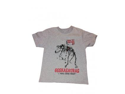 Tričko Geekasauras