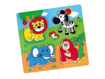 vkládačka zoo