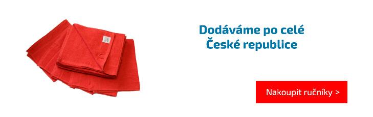 Dodáváme po celé České republice