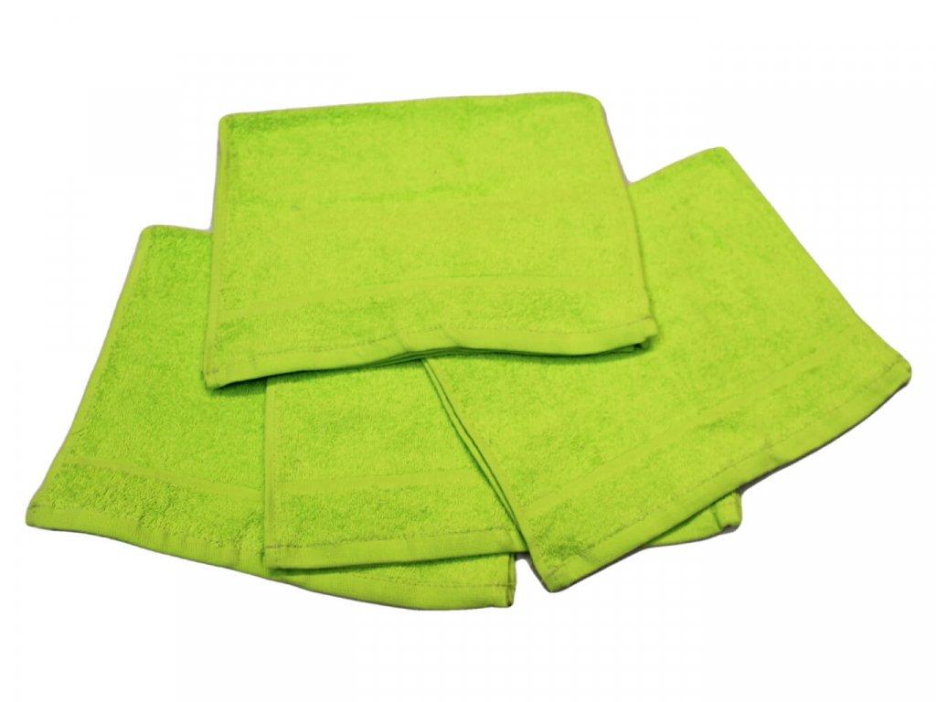 Dětský ručník pro mateřské školy 30x50 cm Pistáciový 1