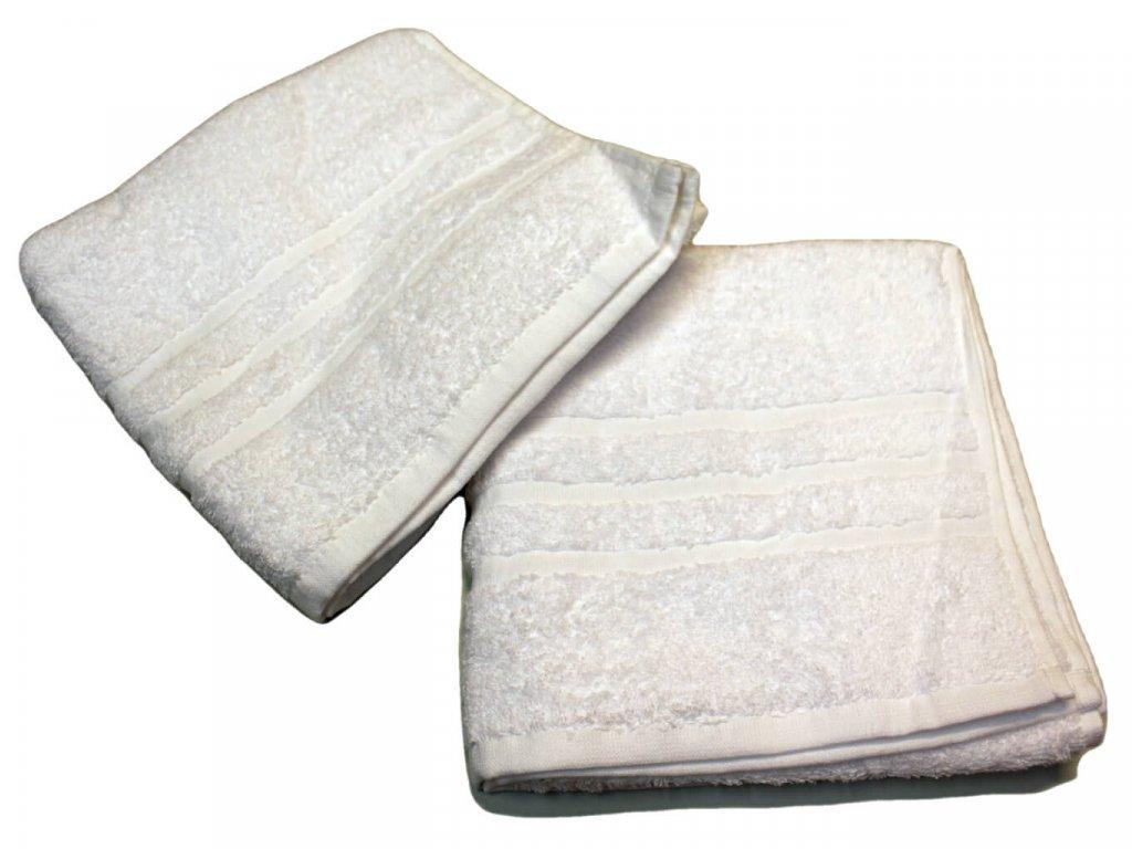 Ručník pro paní učitelky 50x100 cm Bílý 1