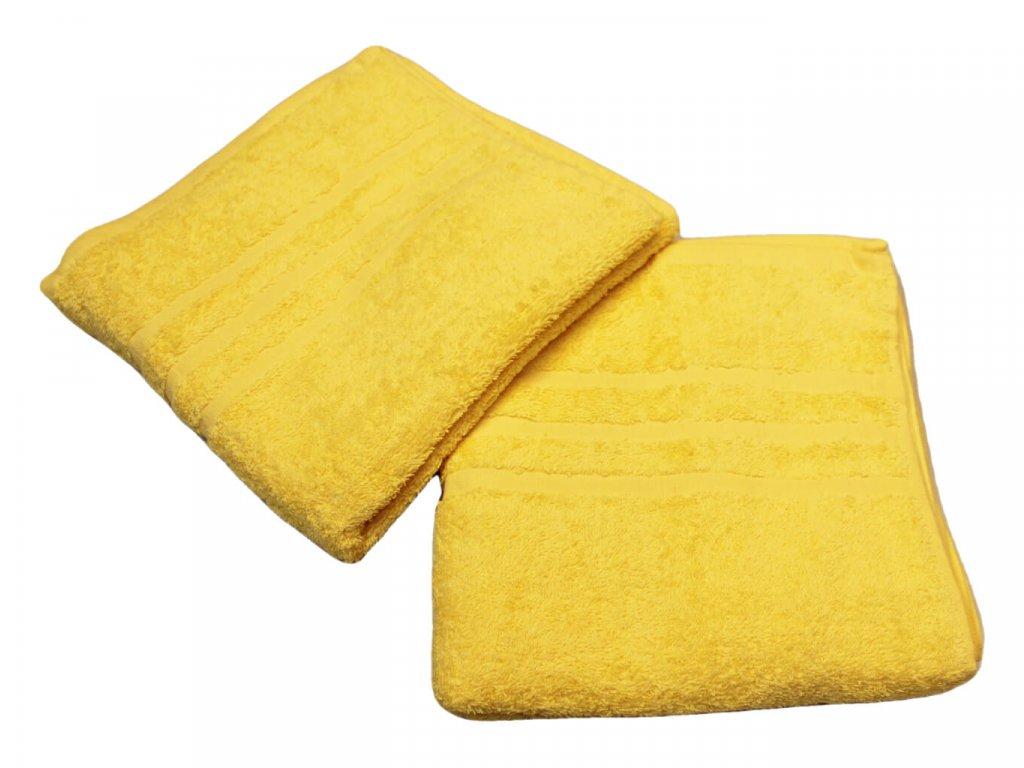 Ručník pro paní učitelky 50x100 cm Žlutý