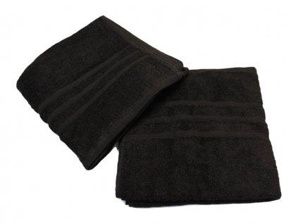 Ručník pro paní učitelky 50x100 cm Černý