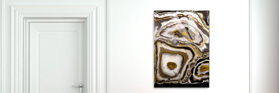 Obraz z pryskyřice Geode Art