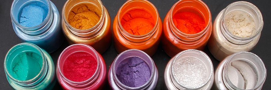 Epoxidová pryskyřice s pigmenty do pryskyřice