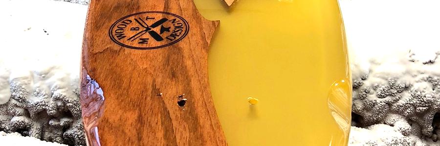 Skateboard z licí pryskyřice
