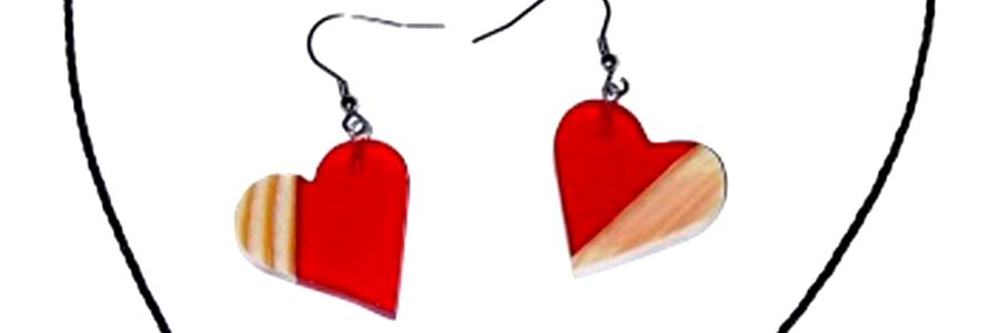 Šperky z křišťálové pryskyřice