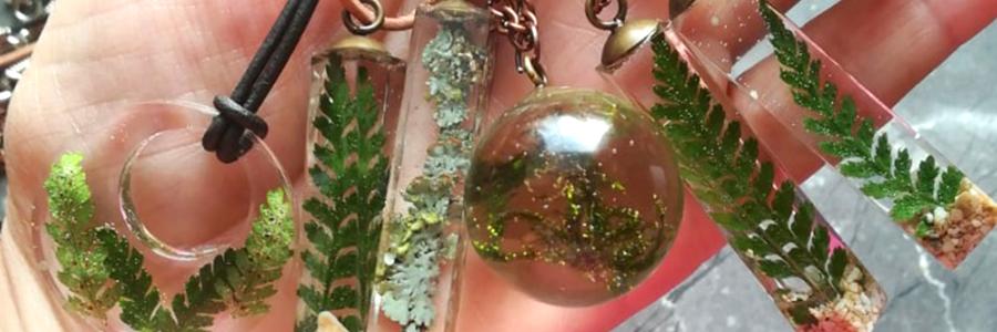 Šperky z pryskyřice od Míši