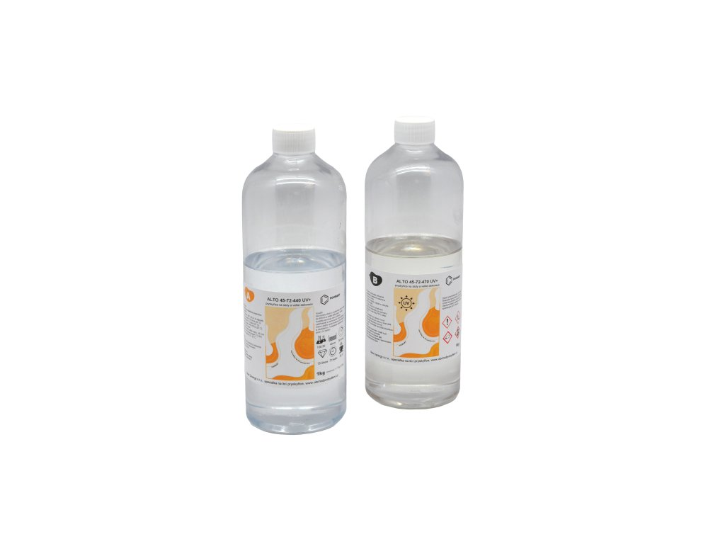 PourArt Křišťálová pryskyřice Alto 45-72 UV+ 1kg