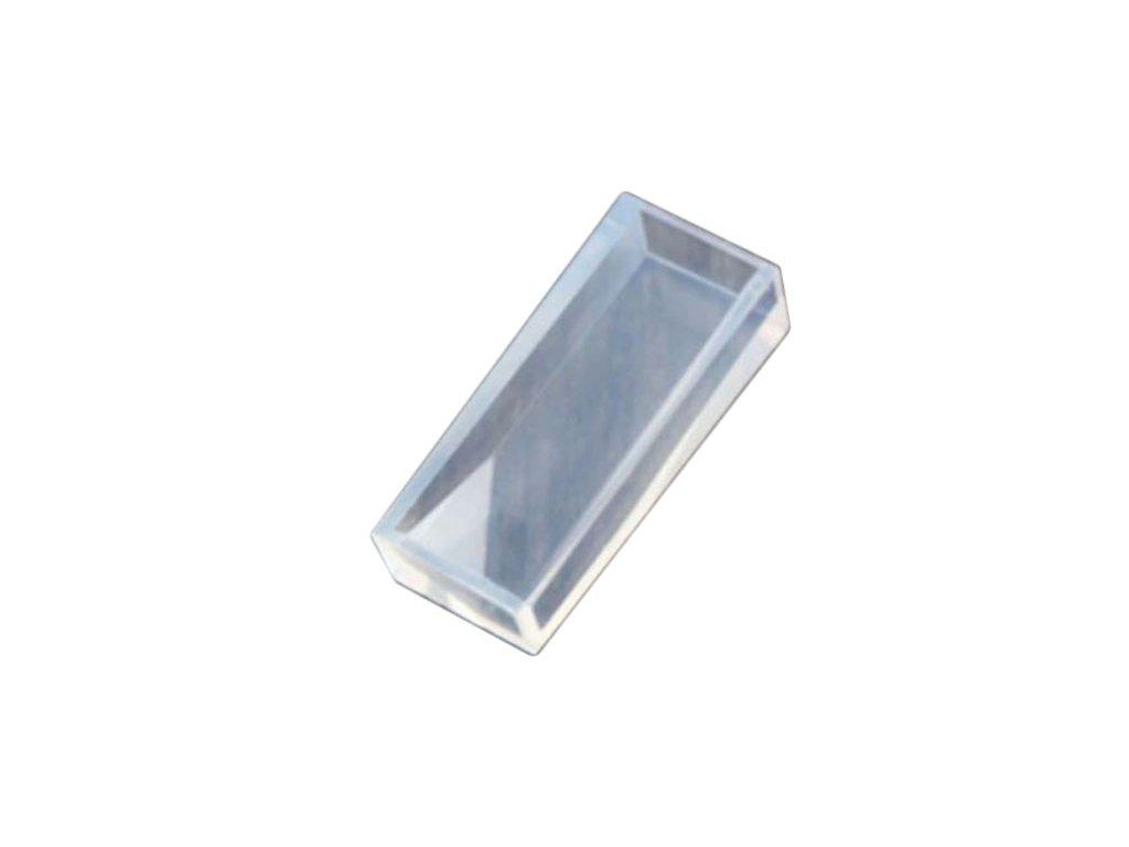 Silikonová forma  krystal 4x9 mm
