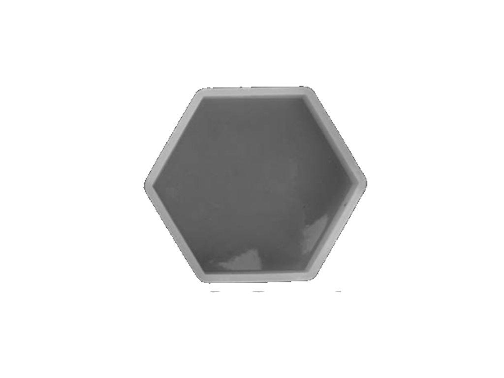 silikonova forma hexa 0