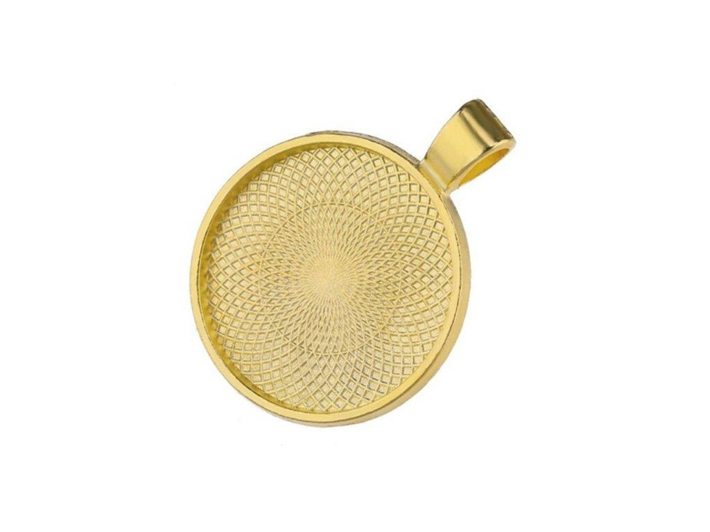 luzko na prysykrici privesek color zlata 0