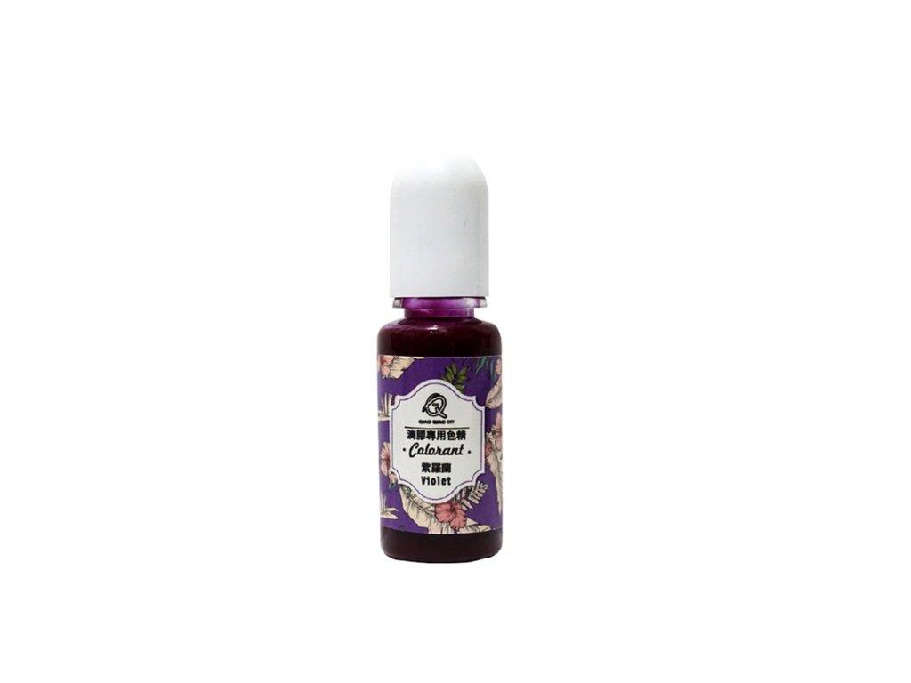 barva do pryskyrice colornat violet