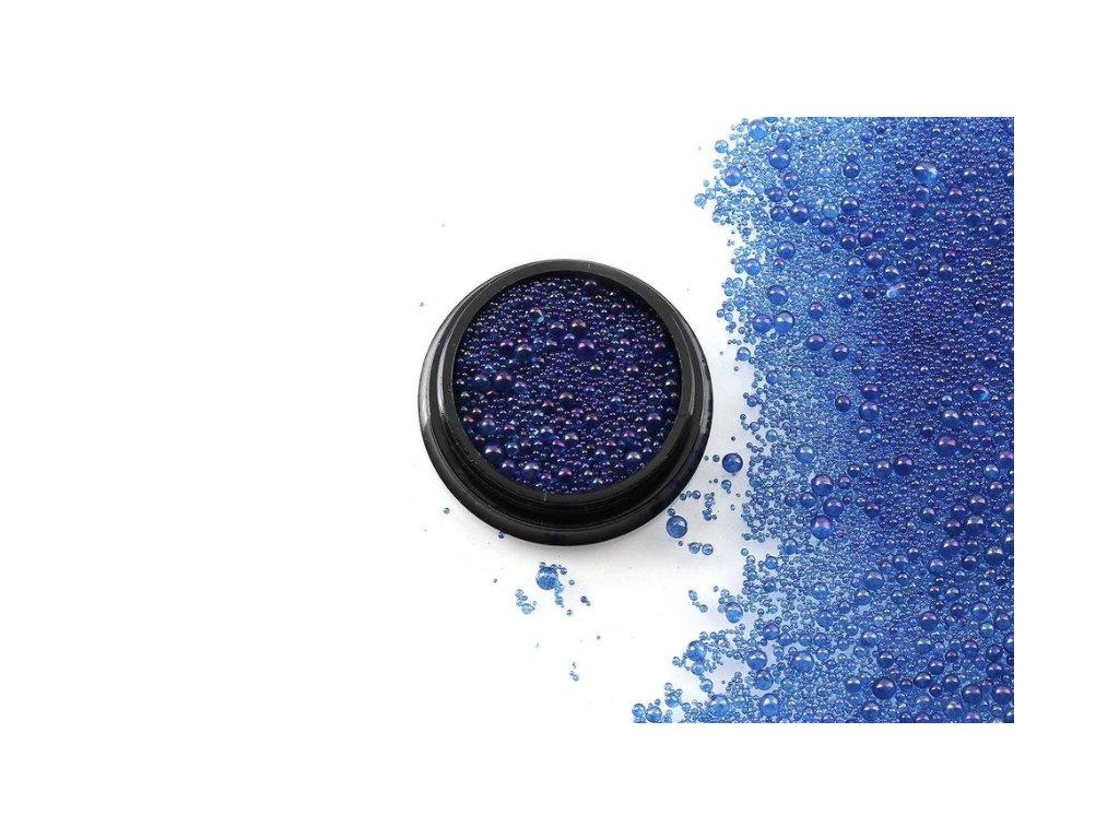 dekoracni material do pryskyrice modra