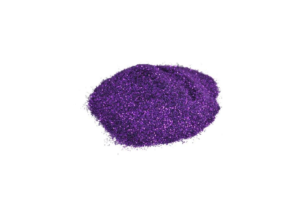 Glitter do pryskyřice holografický tmavě fialový 7109 10g