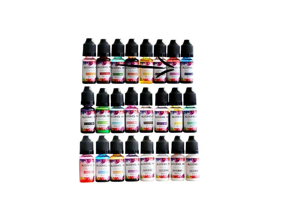 alkoholovy inkoust do pryskyrice purplisch red