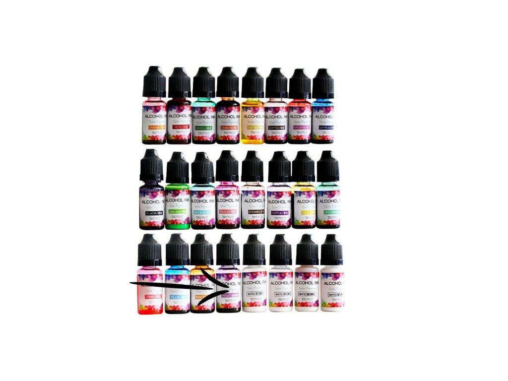 alkoholovy inkoust do pryskyrice violet