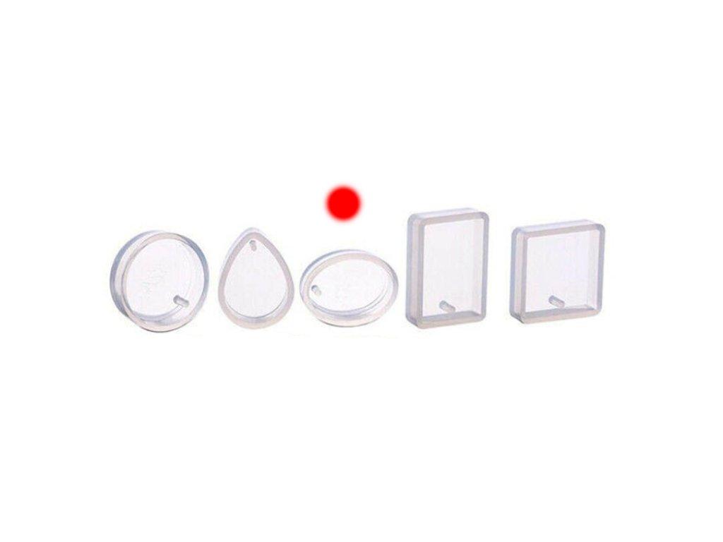 silikonova forma na privesek oval 0