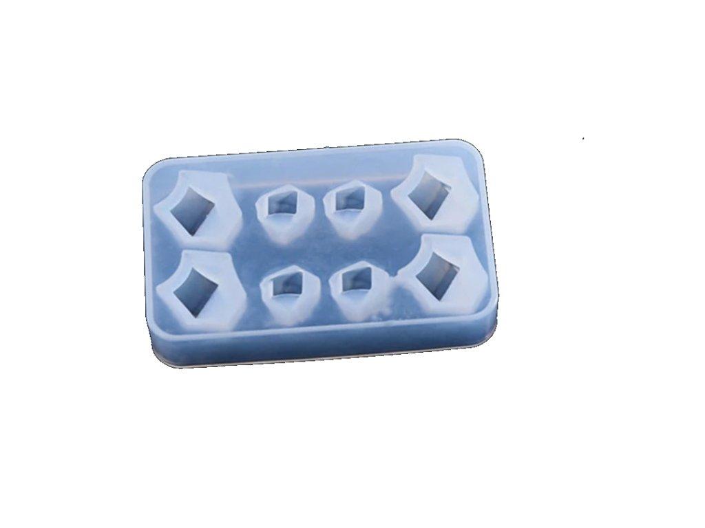 silikonova forma krystalky 0