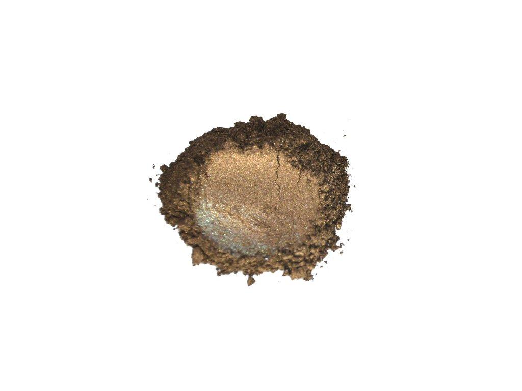 metalicky prasek bronze brown