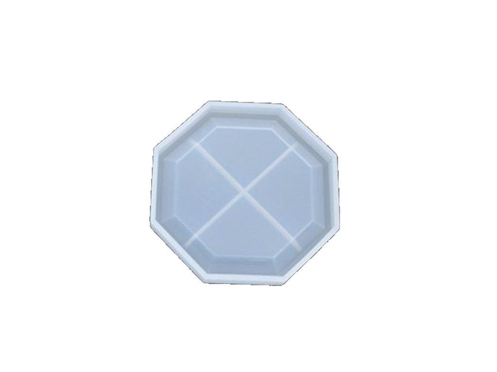 silikonova forma podtacek polygon 3