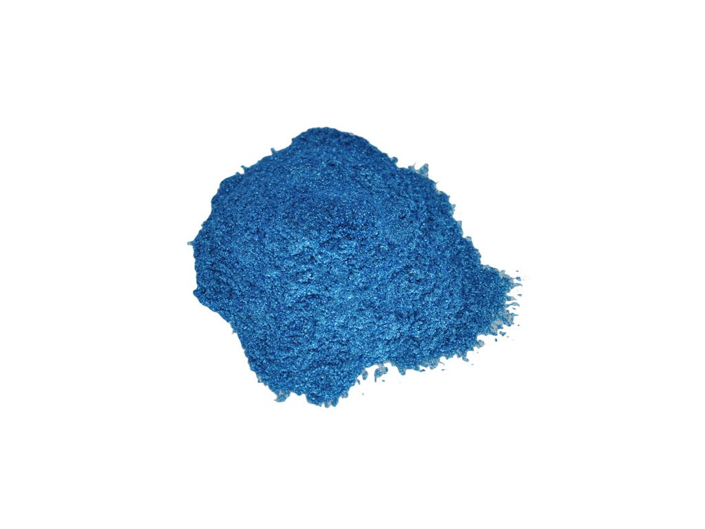 Metalický prášek Bright pure blue F-4289 10g