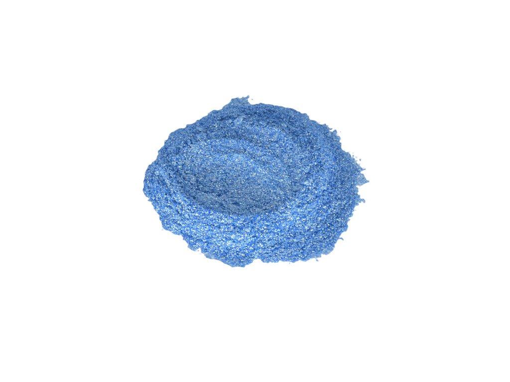 Metalický prášek Glitter deep blue F-470 10g