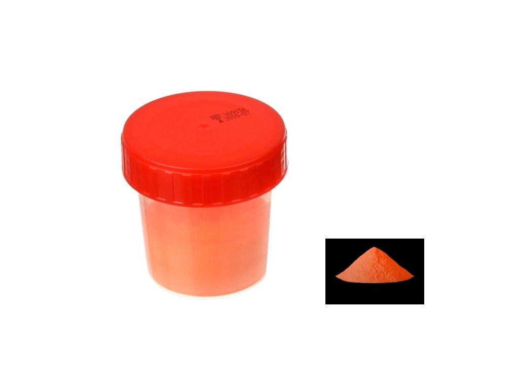 7061 pourart svitici prasek neon oranzova zare 50g