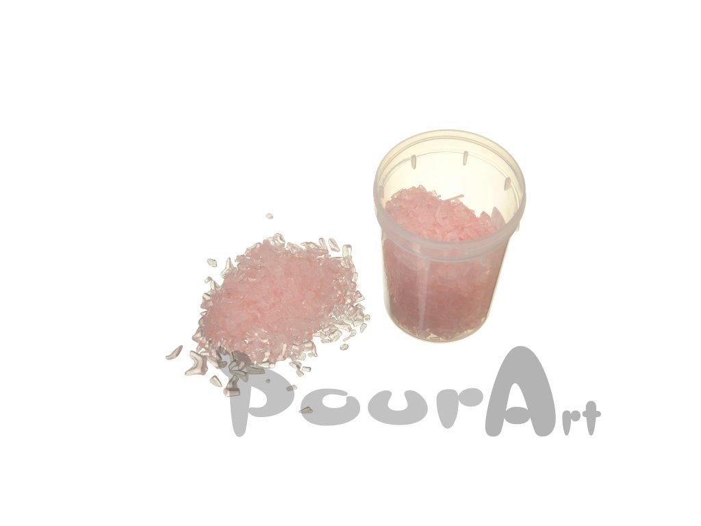 Skleněná drť do pryskyřice PourArt