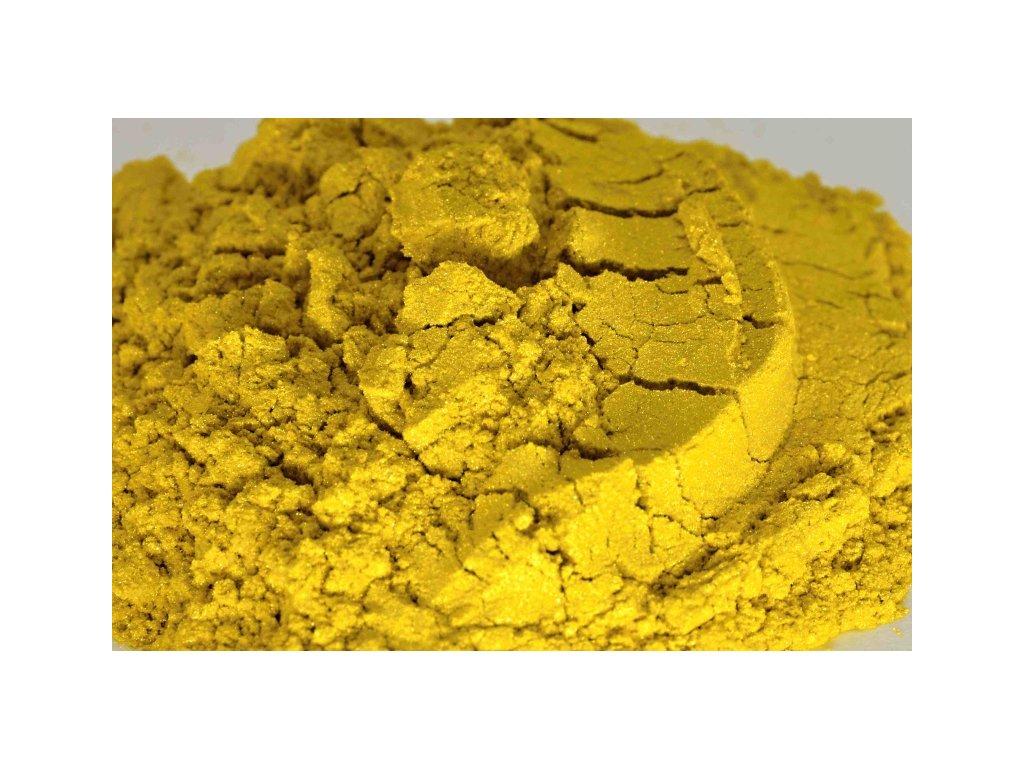 metalicky pigment 0004 lemon